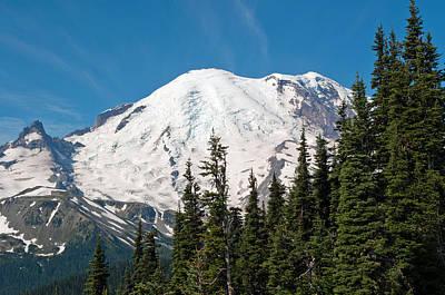 Mt. Rainier At Sunrise Viewpoint Poster