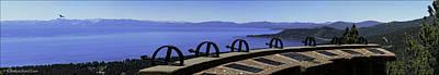 Mt Rose Highway Scenic Overlook Panorama Poster by LeeAnn McLaneGoetz McLaneGoetzStudioLLCcom