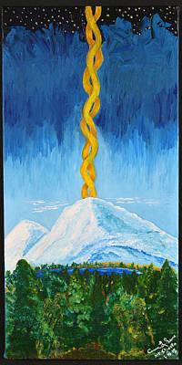 Mt. Shasta Poster by Cassie Sears