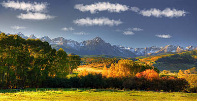 Mt Sneffels And The Dallas Divide Poster