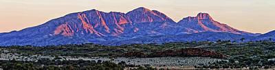 Mt Sonder Sunrise Poster by Paul Svensen