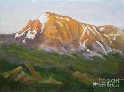 Mt. Tekarra Poster by Mohamed Hirji