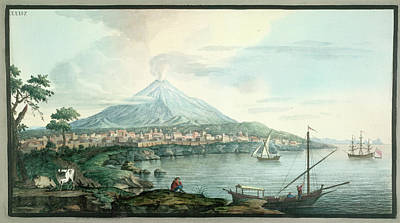Mt. Vesuvius Poster by British Library