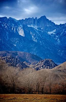 Mt. Whitney And Alabama Hills Poster by Eric Tressler