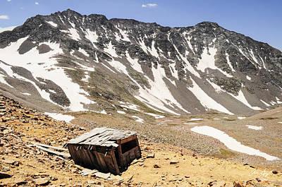Mt. Wilson And El Diente Peak Poster by Aaron Spong