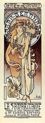 Mucha, Alphonse Maria 1860-1939. La Poster by Everett