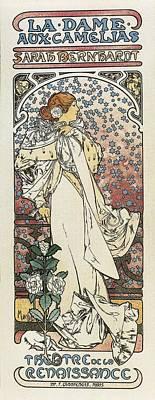 Mucha, Alphonse Maria 1860-1939. The Poster by Everett