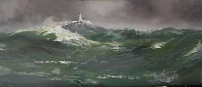 Muckle Flugga Lighthouse Shetland Poster