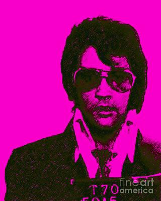 Mugshot Elvis Presley M80 Poster