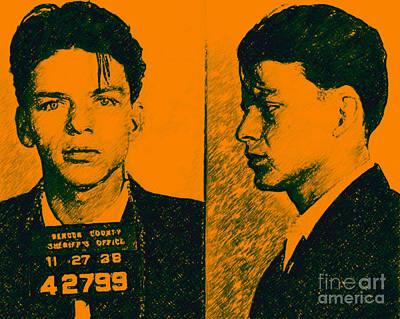 Mugshot Frank Sinatra V2p0 Poster
