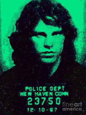 Mugshot Jim Morrison P128 Poster
