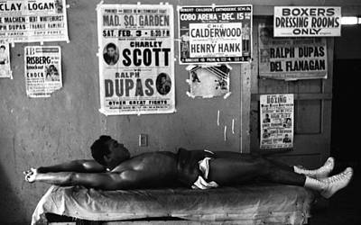 Muhammad Ali Stretching Poster