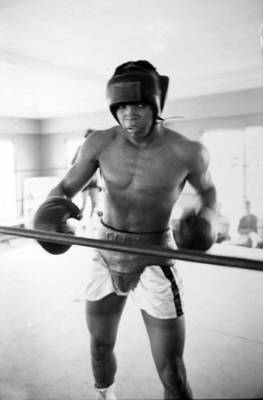 Muhammad Ali Training Inside Ring Poster by Retro Images Archive