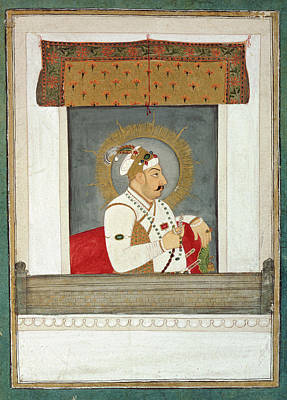 Muhammad Shah At A Window Poster by British Library