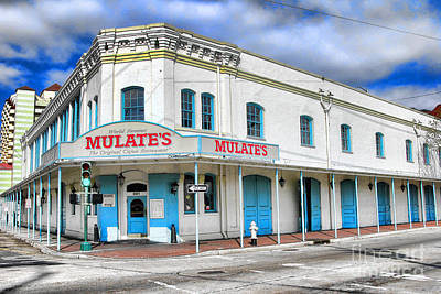 Mulates New Orleans Poster