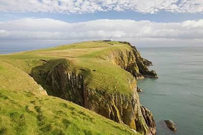 Mull Of Galloway Scotland Poster by Ashley Cooper