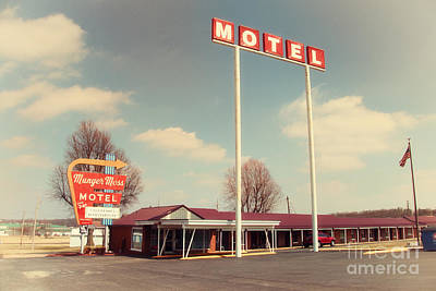 Munger Moss Motel  Poster by Rob Hawkins
