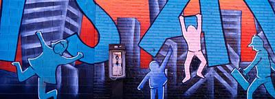Mural, Nyc, New York City, New York Poster