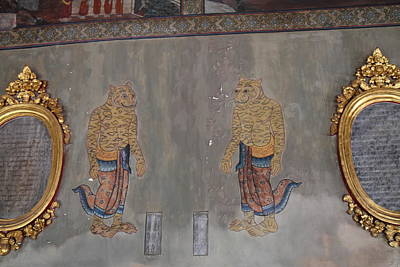 Mural - Wat Pho - Bangkok Thailand - 01132 Poster by DC Photographer