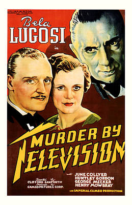 Murder By Television 1935 Poster