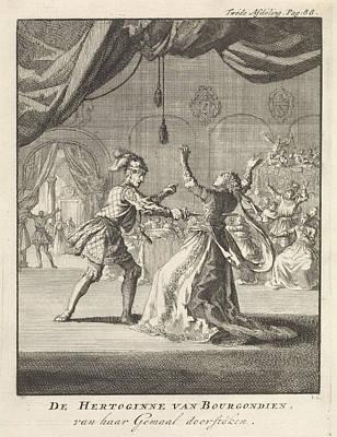 Murder Of The Duchess Of Burgundy, Jan Luyken Poster