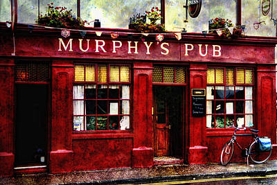 Poster featuring the photograph Murphy's Pub by Brian Tarr