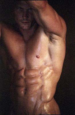 Muscolo Nudo Poster by Tonino Guzzo