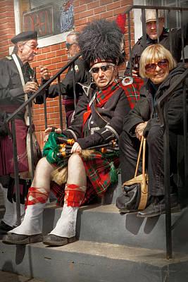 Music - Bag Pipes - Somerville Nj - Piper Resting Poster