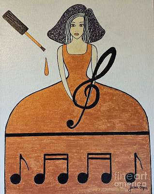 Music Lover Poster by Jasna Gopic