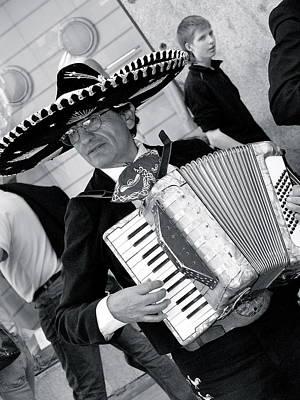 Music-mariachi Accordionist Poster