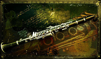 Musical Notes Poster