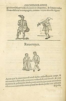 Musicians; Dancers Poster