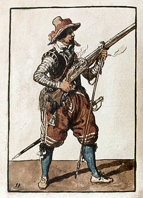 Musketeer, 1608 Poster