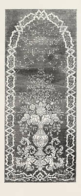 Muslin Curtain Poster by Mair And Son, Glasgow, English, 19th Century