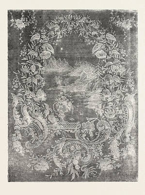 Muslin Curtain Poster by Swiss School