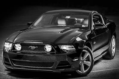 Mustang Gt Poster