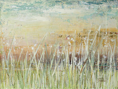 Muted Grass Poster