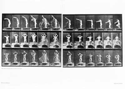 Muybridge Motion Study, 1907 Poster