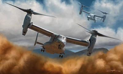 Mv-22 Osprey  Poster