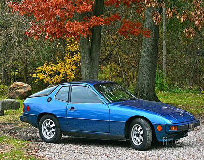 My 1977 Porsche 924 Poster