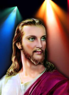 My Beautiful Jesus 3 Poster by Karen Showell