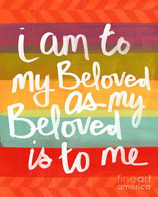 My Beloved Poster by Linda Woods