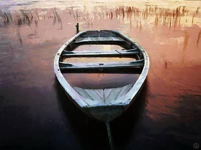 My Boat Is Sinking Poster by Gun Legler