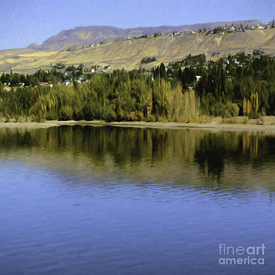 My Columbia River Poster by Jean OKeeffe Macro Abundance Art