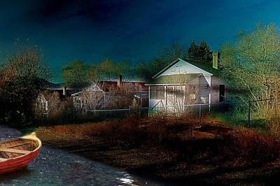 My Dream House Poster by Gunter Nezhoda