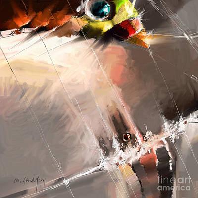 My Eyes- Your Eyes Poster by Edo Abdullah