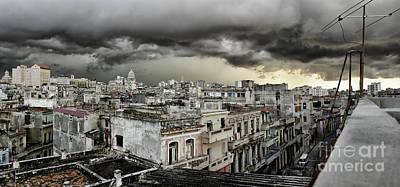 My Havana Roof Poster