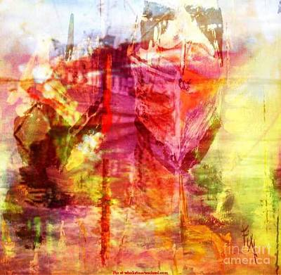 My Heart Belongs To You Ocean Poster by PainterArtist FIN