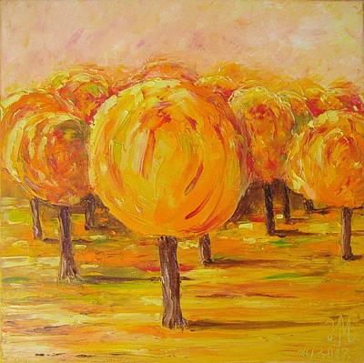My Hot Autumn Poster by Nina Mitkova
