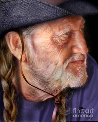 My Man Willie Poster by Reggie Duffie